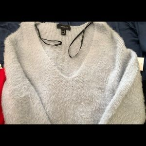 Fuzzy Long Sleeve Sweater from Forever 21+